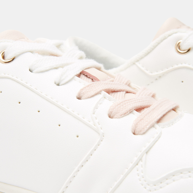 Baskets femme north-star, Blanc, 541-1746 - 16
