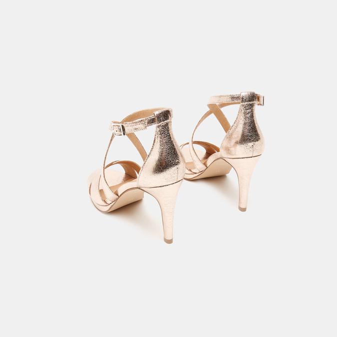 Sandales à talon aiguille bata, Rose, 761-5879 - 17