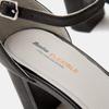 Escarpins en cuir flexible, Noir, 624-6240 - 26