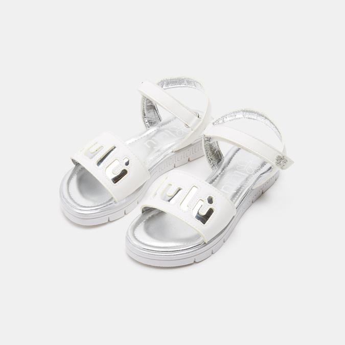 Sandales fille lulu, Blanc, 361-1112 - 26