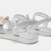 Sandales fille lulu, Argent, 361-2111 - 19