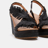 Sandales compensées bata, Noir, 769-6777 - 15