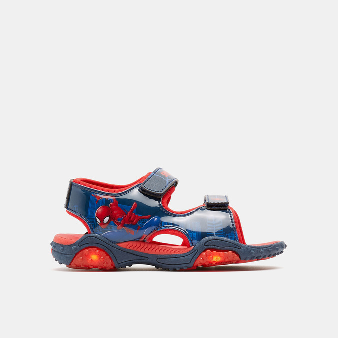 Sandales garçon spiderman, Bleu, 361-9110 - 13