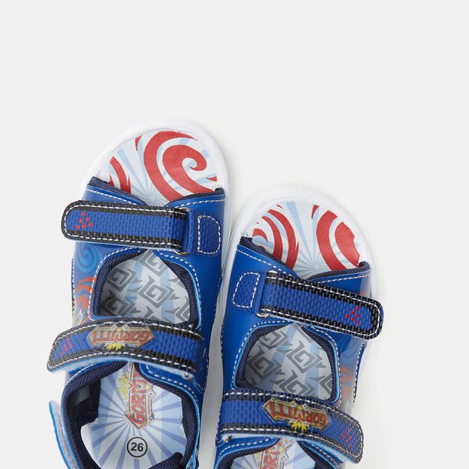 Sandales garçon Gormiti gormiti, Bleu, 261-9223 - 19