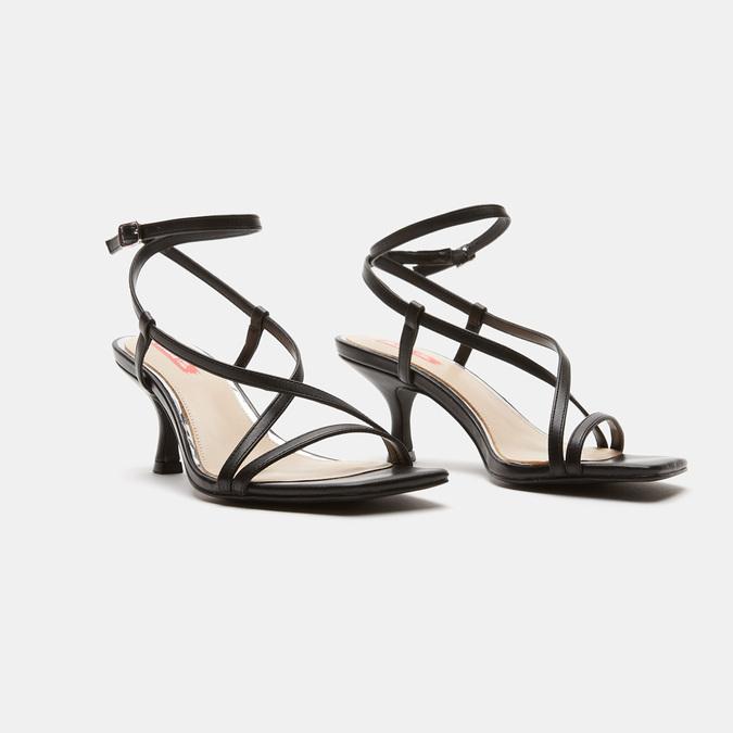 Sandales à bride bata-rl, Noir, 761-6853 - 26