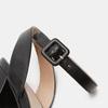 Sandales à talon large bata, Noir, 761-6873 - 26