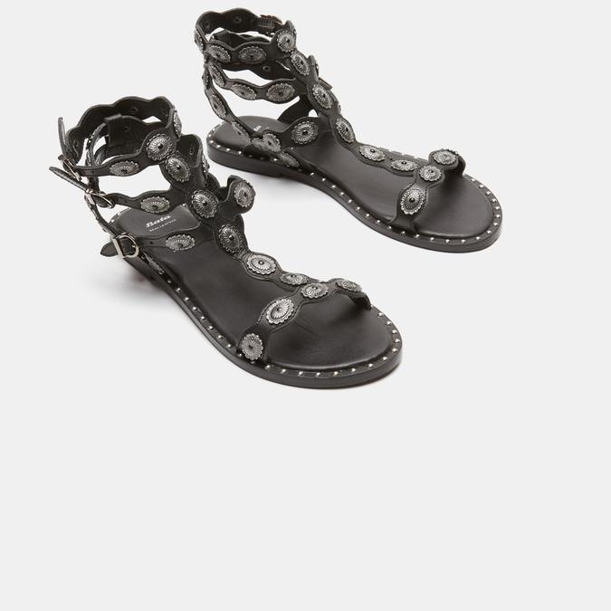 Sandales femme bata, Noir, 564-6830 - 26