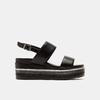 Sandales à plateforme bata, Noir, 761-6885 - 13