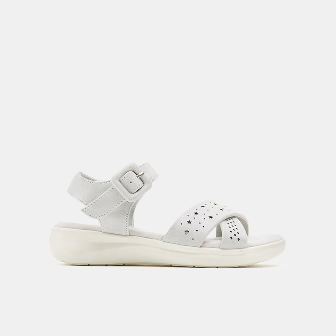Sandales fille mini-b, Gris, 361-2429 - 13