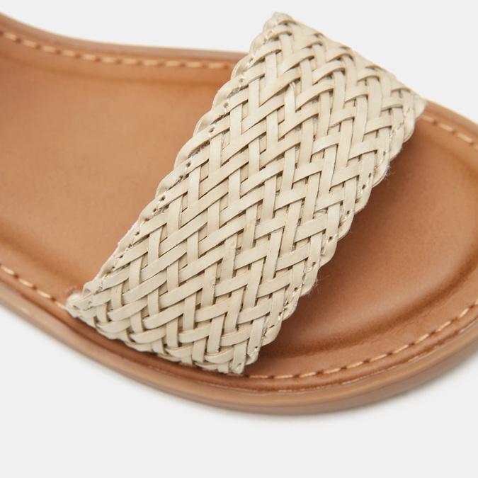 Sandales fille mini-b, Blanc, 361-1430 - 16