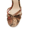 Sandales imprimé serpent bata-rl, Rouge, 761-5852 - 16