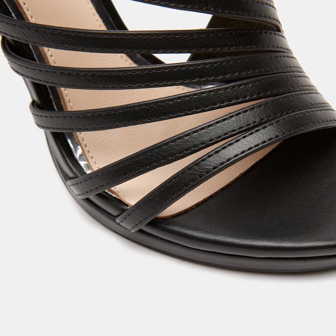 Sandales à talon aiguille bata-rl, Noir, 761-6854 - 26