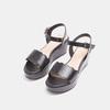 Sandales à plateforme bata, Noir, 764-6882 - 26