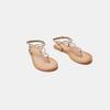 Sandales femme bata, Or, 564-8823 - 16