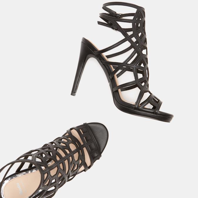 Sandales à talon aiguille bata, Noir, 761-6880 - 17
