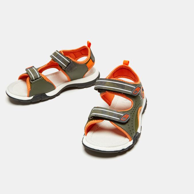 Sandales garçon mini-b, Gris, 361-7397 - 16