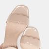 Sandales à talon large bata, Rouge, 761-5872 - 16