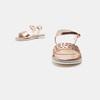 Sandales fille mini-b, Rose, 361-5414 - 17