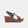 Sandales à plateforme bata-rl, Brun, 764-4990 - 13