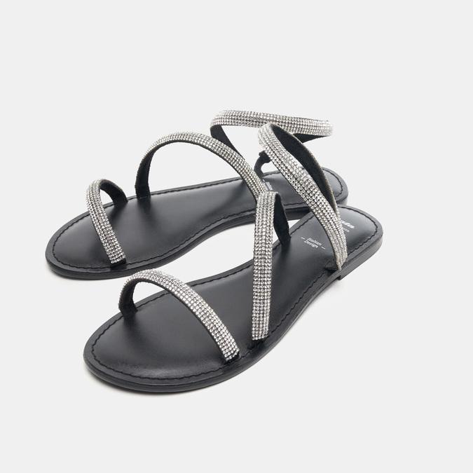 Sandales femme bata, Noir, 564-6798 - 26