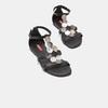 Sandales à bride bata-rl, Noir, 564-6917 - 26