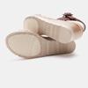 Sandales compensées bata, Blanc, 761-1947 - 15