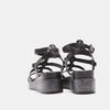 Sandales femme à plateforme bata, Noir, 661-6519 - 17