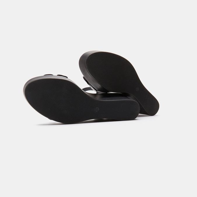 Sandales à plateforme bata-rl, Noir, 764-6989 - 17