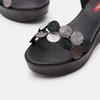Sandales à plateforme bata-rl, Noir, 764-6989 - 26
