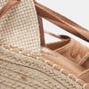 Sandales compensées bata, Brun, 769-3868 - 19