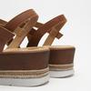 Sandales à plateforme bata, Brun, 764-3941 - 16