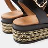 Sandales à plateforme bata, Noir, 764-6940 - 17