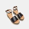 Sandales à plateforme bata, Noir, 764-6940 - 19