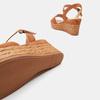 Sandales compensées bata, Brun, 763-4938 - 15