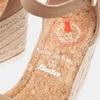 Sandales compensées bata, Beige, 769-8983 - 16