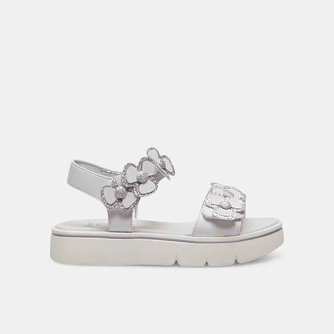 Sandales fille mini-b, Blanc, 361-1411 - 13