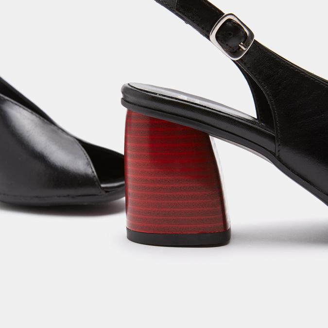Sandales à plateforme bata, Noir, 764-6971 - 26