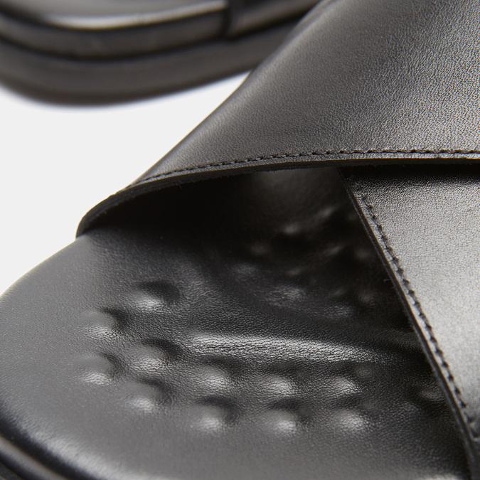 Sandales homme bata, Noir, 864-6280 - 16