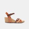 Sandales compensées weinbrenner, Brun, 764-4984 - 13