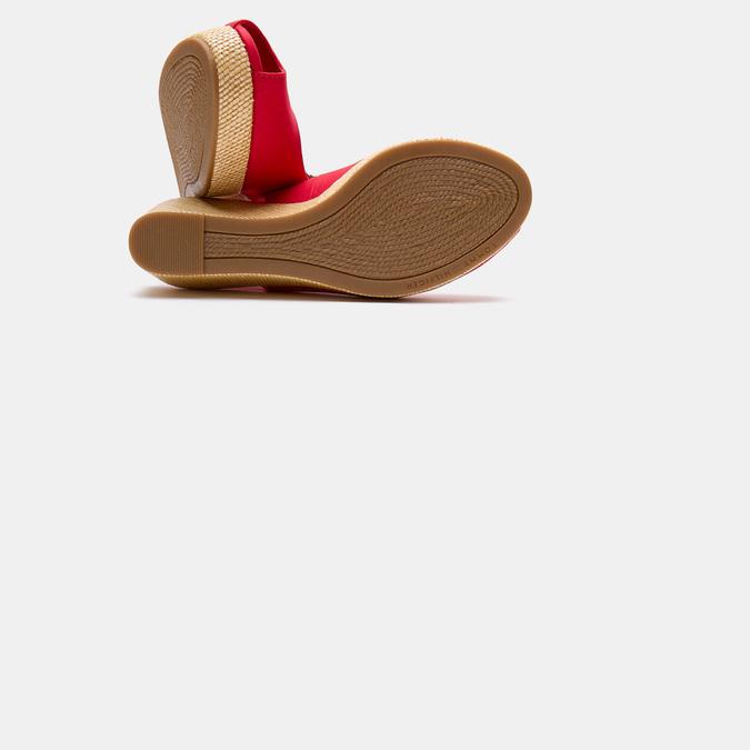 Sandales compensées tommy-hilfiger, Rouge, 669-5189 - 17