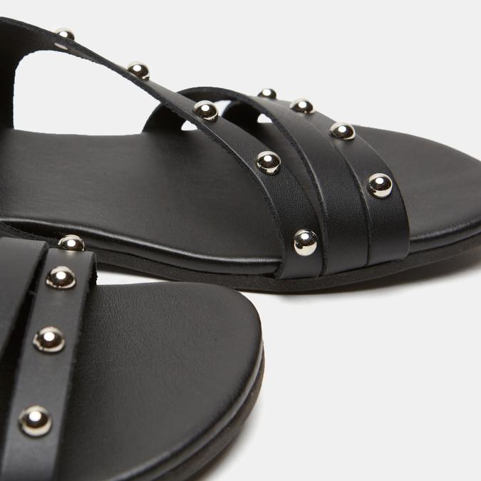 Sandales à bride bata, Noir, 564-6132 - 16
