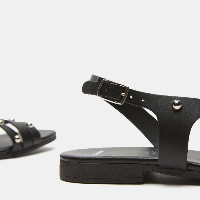 Sandales à bride bata, Noir, 564-6132 - 15