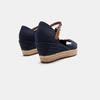 Sandales compensées tommy-hilfiger, Bleu, 669-9202 - 15
