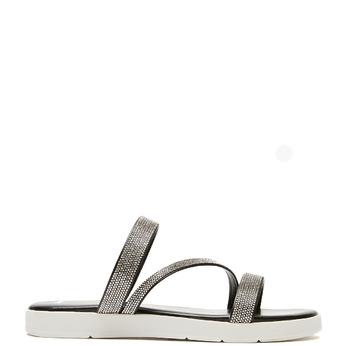 Sandales à bride bata, Noir, 571-6681 - 13