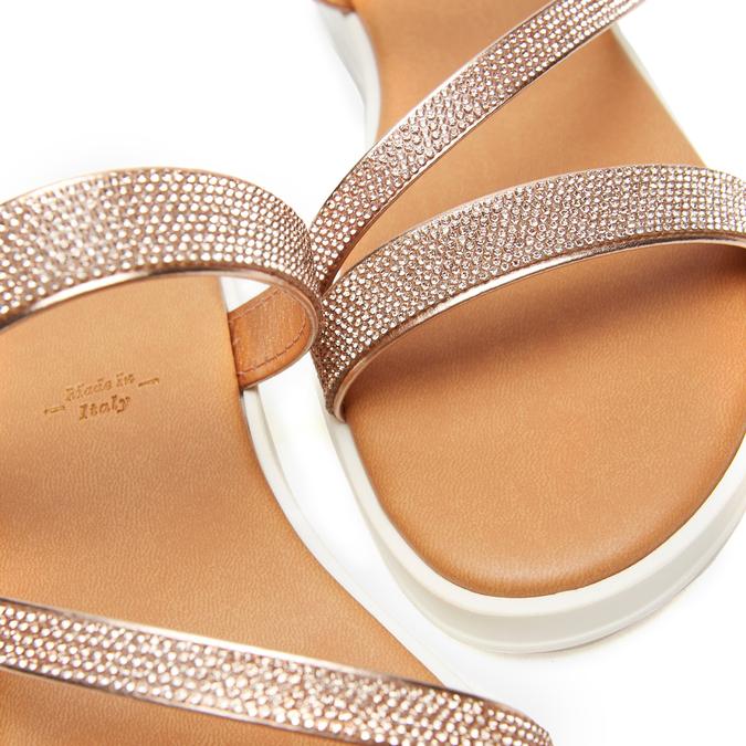 Sandales à bride bata, Rose, 571-5681 - 16
