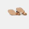 Sandales à talon large et à plateforme bata, Noir, 761-6866 - 17