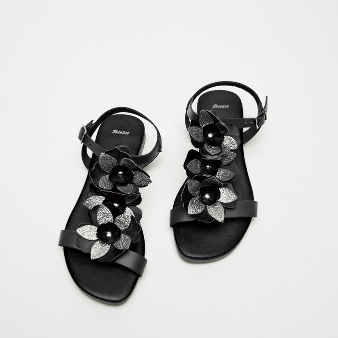 Sandales à bride bata, Noir, 564-6915 - 26