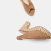 Sandales à talon large et à plateforme bata, Beige, 769-8865 - 17