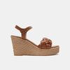 Sandales à plateforme bata, Brun, 764-4129 - 13