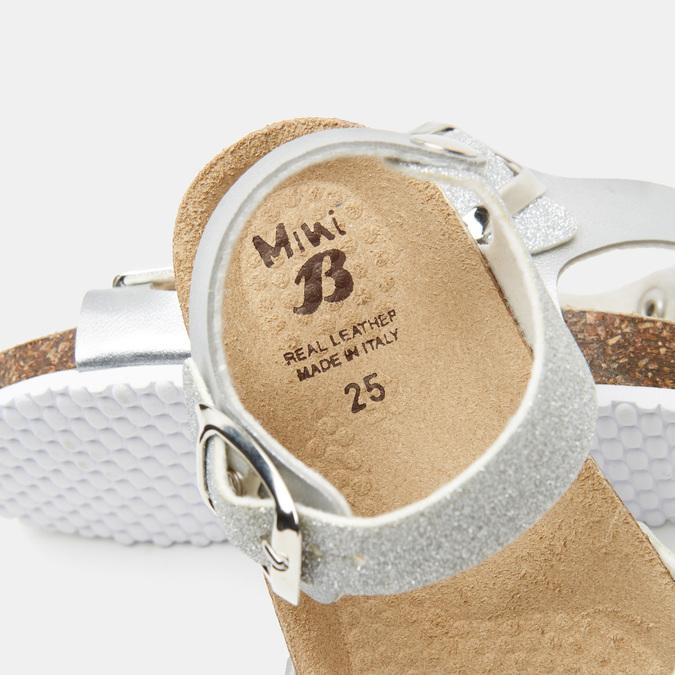 Sandales fille mini-b, Argent, 361-2434 - 15